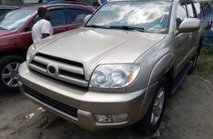 Clean Tokunbo Used Toyota 4-Runner 2005