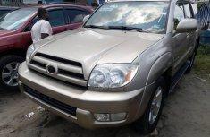 Clean Tokunbo Used Toyota 4-Runner 2005