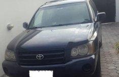 Nigerian Used Toyota Highlander 2001