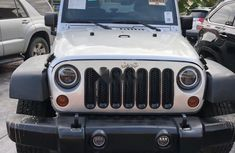 Neat Foreign used Jeep Wrangler 2012