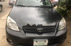 Neat Nigerian used Toyota Matrix 2005