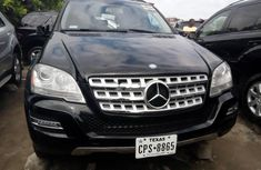 Clean Tokunbo Used Mercedes-Benz ML350 2010
