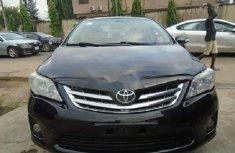 Neat Nigerian used 2012 Toyota Corolla