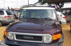 Clean Nigerian Used Toyota fjcruiser 2008