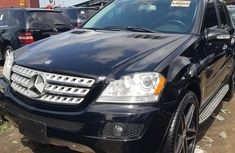 Clean Tokunbo Used  Mercedes-Benz ML350 2009 Black
