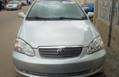 Clean Tokunbo Used Toyota Corolla 2005