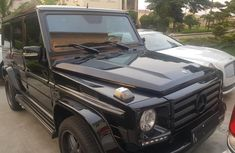 Clean Tokunbo Used Mercedes-Benz G550 2012