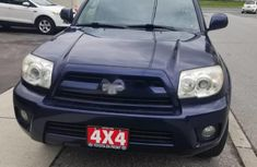 Clean Tokunbo Used Toyota 4-Runner 2006