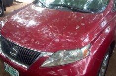 Clean Nigerian Used Lexus RX 2010