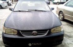Clean Nigerian Used Toyota Corolla 2002