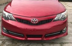 Clean Tokunbo Used Toyota Camry 2014 Red
