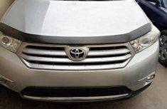 Clean Tokunbo Used Toyota Highlander 2012