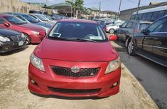 Clean Nigerian Used Toyota Corolla 2010 Red