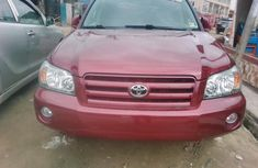 Clean Tokunbo 2003 Toyota Highlander Carton Wagon in Lagos