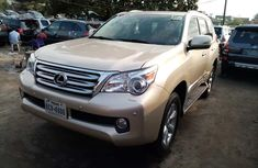 Foreign Used Lexus GX460 2012 Model Gold for Sale