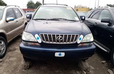 Foreign Used Lexus RX 300 2003 Model Blue for Sale