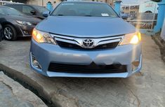 Clean Tokunbo Used Toyota Camry 2012 Blue