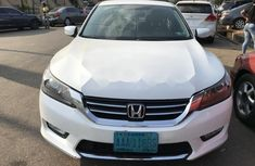 Clean Nigerian Used Honda Accord 2013 White