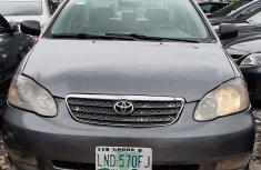 Clean Nigerian Used Toyota Corolla 2007