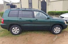 Clean Tokunbo 2003 Toyota Highlander Carton Wagon