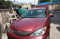 Neatly used Toyota Camry 2004 Red