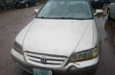 Clean Nigerian used Honda Accord 2002