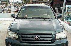 Nigerian Used Toyota Highlander 2004