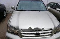 Nigerian Used 2001 Toyota Highlander in Lagos