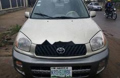 Clean Nigerian Used Toyota RAV4 2003 Gold