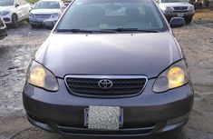 Neat Nigerian Used 2004 Toyota Corolla Gray for Sale