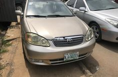 Well Maintained Nigerian used Toyota Corolla 2004