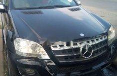 Clean Tokunbo Mercedes-Benz ML350 2010 Grey/Silver