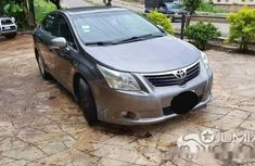 Clean Nigerian Used Toyota Avensis 2010 Blue