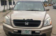 Clean Nigerian Used  Honda Pilot 2004