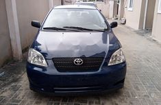 Clean Foreign Used Toyota Corolla 2003 Blue
