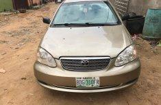 Neat Nigerian Used Toyota Corolla 2007