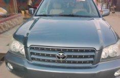 Clean Used Toyota Highlander 2002