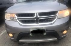Perfect Nigerian Used  Dodge Journey 2015 Grey/Silver