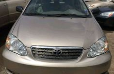 Clean Body Nigerian Used Toyota Corolla 2004 Model