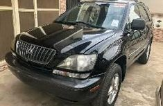 Clean Foreign Used Lexus RX 2001 Black