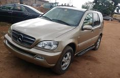Super Clean Nigerian used 2004 Mercedes-Benz ML 320