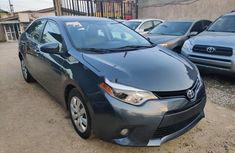 Neat Tokunbo Toyota Corolla 2014 Blue