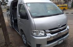 Super Neat Tokunbo Toyota HiAce 2014 Grey/Silver