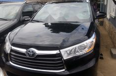 Neat Used Toyota Highlander 2016 Black