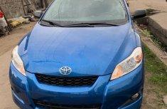 Super Clean Tokunbo Toyota Matrix 2009 Blue