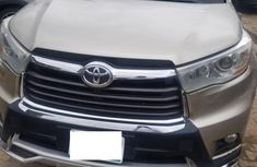Perfect Nigerian Used  Toyota Highlander 2015