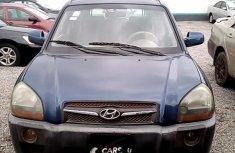 Clean Nigerian Used Hyundai Tucson 2010 Blue