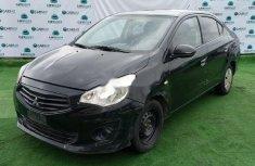 Clean Nigerian Used  Mitsubishi Attrage 2014 Black