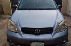 Clean Nigerian Used Toyota Matrix 2006 Blue