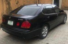 Clean Nigerian Used Lexus GS 2001 Black